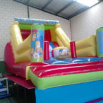 Castillo Playmix Los Simpsons 6 x 4 x 3,35m